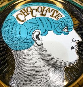 PIATTINO PHRENOLOGY CHOCOLATE