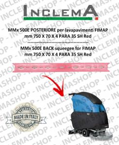 MMx 500E Gomma tergi POSTERIORE per lavapavimenti FIMAP (From s/n 211014837)