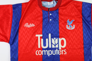 1991-92 Crystal Palace Maglia Home L (Top)