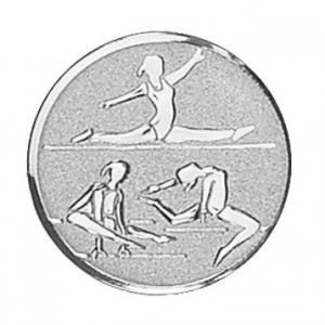 Piastrina ginnastica femminile cm.2,5x2,5x0,1h