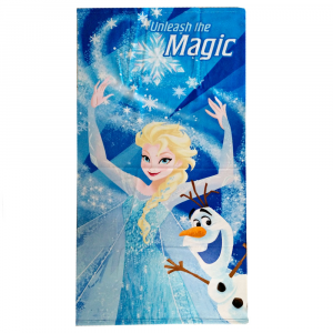 FROZEN 70x140 MAGIC official turquoise beach towel