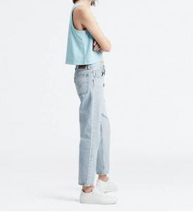 Jeans donna LEVI'S 501 CROP LIGHT INDIGO