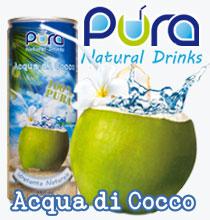 COCOA PURE WATER - Paket mit 24 250 ml Dosen