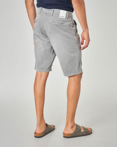 Bermuda chino grigio lunghezza ginocchio
