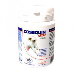 COSEQUIN ULTRA 80 CPR cani < 25 kg - integratore per cani con problemi articolari