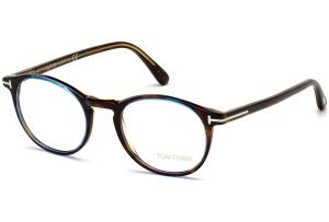 Tom Ford - Occhiale da Vista Uomo, Havana Azure  FT5294  (056)  C48