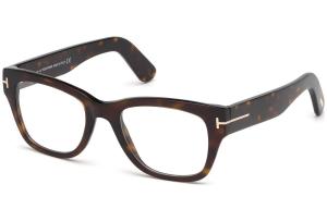 Tom Ford - Occhiale da Vista Uomo, Shiny Dark Havana  FT5379  (52A)  C51