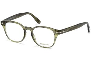 Tom Ford - Occhiale da Vista Unisex, Striped Green  FT5400  (098)  C48