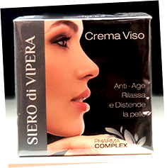 PHARMA COMPLEX-Crema Trattamento Siero Di Vipera