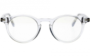 Tom Ford - Occhiale da Vista Unisex, BLUE BLOCK, Light Grey  FT5557-B  (020)  C48