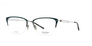 Calvin Klein - Occhiale da Vista Donna, Matte Teal/Nickel  CK8065  (406)  C52