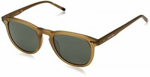 Calvin Klein - Occhiale da Sole Uomo, Matte Light Brown/Grey Shaded  CK4321S  (204)  C51