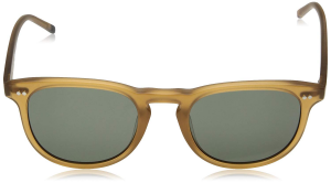 Calvin Klein - Occhiale da Sole Uomo, Matte Light Brown/Grey Shaded  CK4321S  (204)  C51