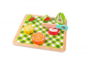 Puzzle frutta da tagliare