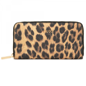 Woman wallet Liu Jo MANHATTAN A69174 E0419 LEOPARDO MARR