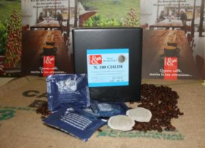 Cialde Caffè Decaffeinato -  100 Pezzi