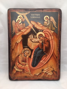 Icona Rumena dipinta