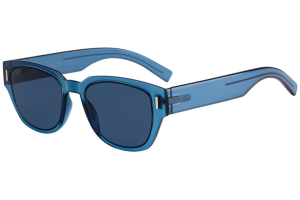 Christian Dior - Occhiale da Sole Uomo, DIOR FRACTION3, Blue/Blue Shaded  PJP/A9  C50