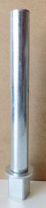 Asse in acciaio inox per ex Mecnosud N°5