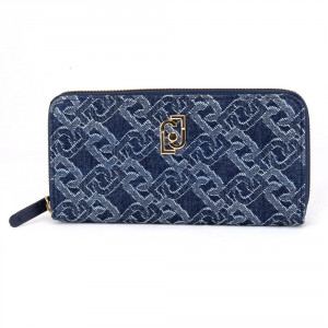 Woman wallet Liu Jo CREATIVA A69179 T9779 BLU DENIM
