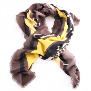 Headscarf Liu Jo LOGO ANIMALIER 269065 T0300 MORO LIGHT