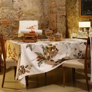 Tovaglia rotonda diametro 170 cm Tessitura Toscana in cotone PEYOTE
