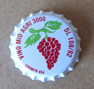 Tappi corona uva diam.26 confezione da 200 PZ.