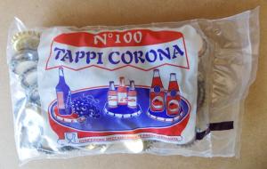 Tappi corona sughero confezione da 100 PZ.
