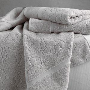Coppia di asciugamani set 1+1 TWINSET PAPILLONS in spugna - due colori