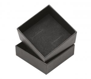 Scatola nera fonda per gioielli cm.6x6x4h