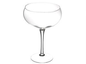 Vaso coppa grande in vetro cm.30h diam.24