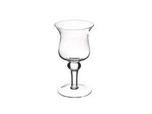 Vaso Calice in vetro cm.24h diam.13