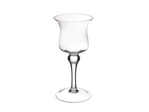 Vaso Calice in vetro cm.29h diam.13