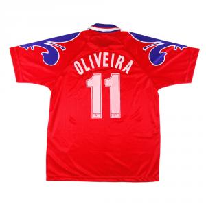 1996-97 Fiorentina Maglia Terza #11 Oliveira XL *Nuova
