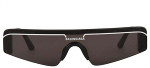 Balenciaga - Occhiale da Sole Unisex, Matte Black/Grey Shaded  BB0003S-001  C99