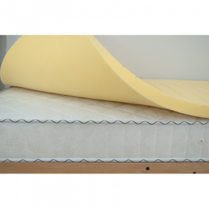 TOPPER-SOVRAMATERASSO IN VISCOELASTICO ANTIDECUBITO-BY OVERBED