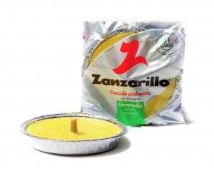 Citronella Padella in Alluminio diam. cm.17 e cm.14