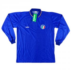 1986-90 Italia Maglia Home XL *Nuova