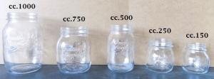 Vaso vetro Quattro Stagioni Bormioli da cc 150 a cc 1000