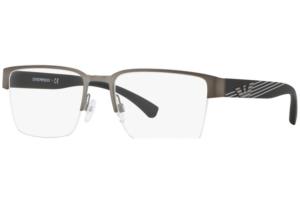Emporio Armani - Occhiale da Vista Uomo, Matte Ruthenium/Gunmetal  EA1078  3003  C53