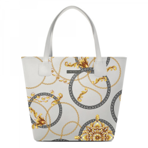 Cabas Alviero Rodriguez BIANCO ROYAL WHITE SHOPPER DELUXE BRW Unico