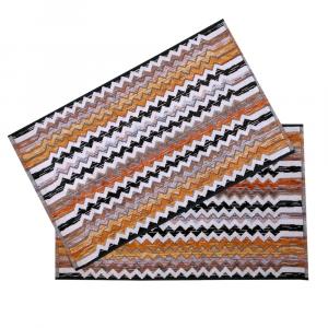Missoni Home 2 asciugamani 40x70 cm PAUL 160 cuoio