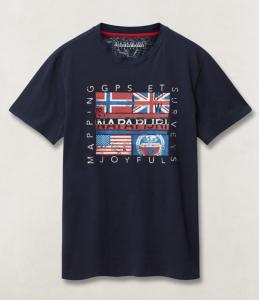 T-shirt uomo NAPAPIJRI SACHU MANICA CORTA