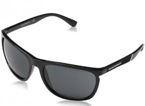 Emporio Armani - Occhiale da Sole Uomo, Black/Grey Shaded  EA4107  5017/87  C59