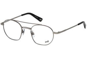 Web - Occhiale da Vista Uomo, Silver  WE5248  014  C49