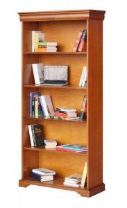 Libreria alta stile Luigi Filippo vani a giorno
