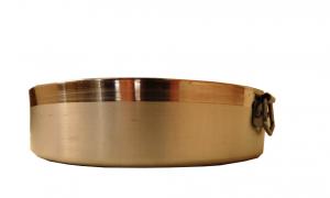 Tortiera Cilindrica Con  Anello  da 24 cm a 30 cm