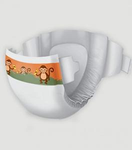 Pannolino Asciuttissimi Baby – tg. 3 (4/9kg) – pacco scorta (120pz)