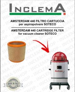 AMSTERDAM 440 FILTRO CARTUCCIA per aspirapolvere SOTECO