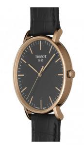 Orologio TISSOT Everytime  Cassa in acciaio 316 L con trattamento Pvd oro rosa T109.610.36.051.00